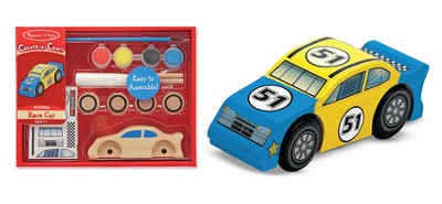 Race Car, Decorate Your Own  -