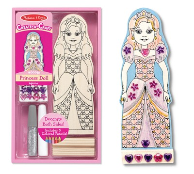 Princess Doll, Decorate Your Own  -