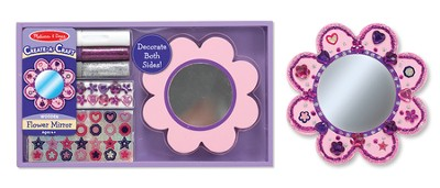 Flower Mirror, Decorate Your Own  -