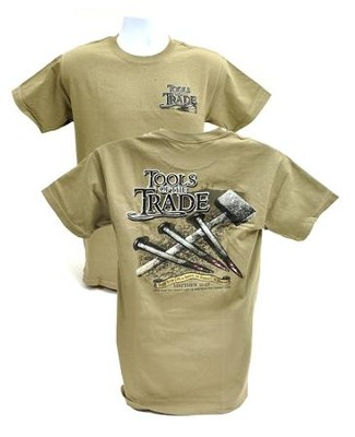 Tools of the Trade Shirt, Tan, Small  -