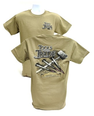 Tools of the Trade Shirt, Tan, X-Large  -