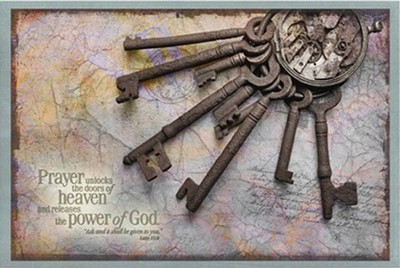 Prayer Unlocks the Doors of Heaven, Magnetic Board  -