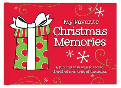 Christmas Memories Gift Book  -