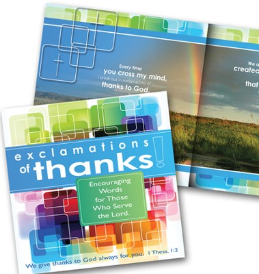 Exclamations of Thanks!  -     By: Gail Marsh