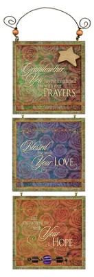 Grandmother, Blessed Me With Your Love Plaque  -