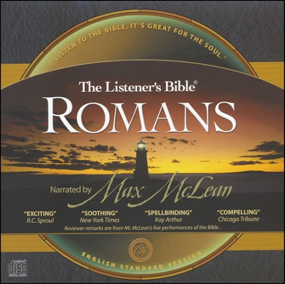 The ESV Listener's Bible: Romans on CD Audio Bible   -     Narrated By: Max McLean     By: Narrated by Max McLean