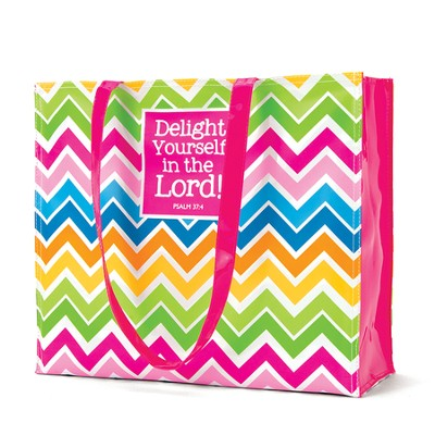Delight in the Lord Fashion Tote Bag  -