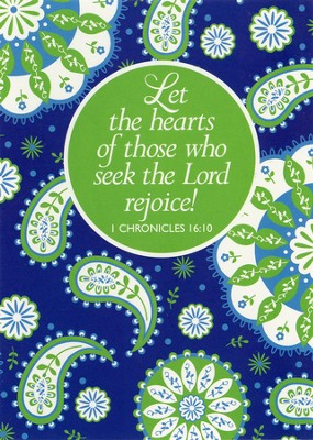 Seek the Lord, Blank Note Cards, Box of 10   -