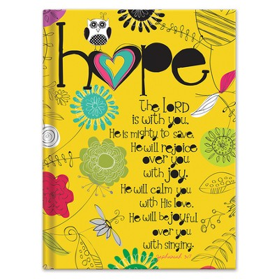 Hope Journal, Yellow  -     By: Amylee Weeks