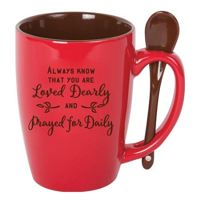 Always Know That You Are Loved Mug with Spoon  -