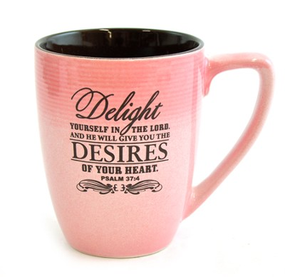 Delight Yourself In the Lord Mug  -