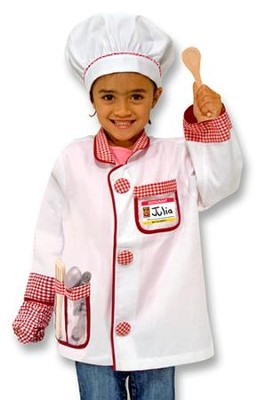 Chef , Play Costume Set  -