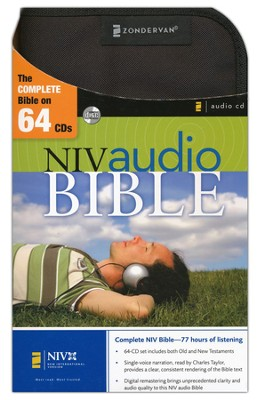 NIV Audio Bible Voice Only, CD  1984  -     Narrated By: Charles Taylor     By: Charles Taylor