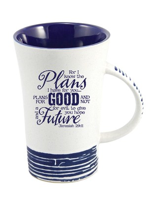 For I Know the Plans I Have For You Mug, Blue  -