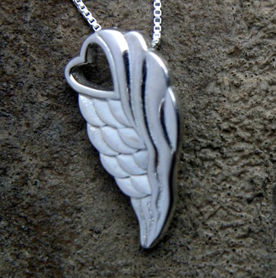 Angel Wing Necklace  -