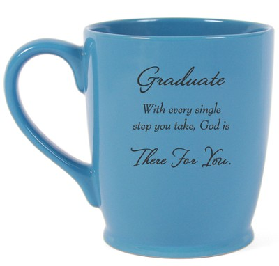 Graduate, There For You Mug, Blue  -