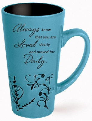 Always Know That You Are Loved Mug, Blue  -
