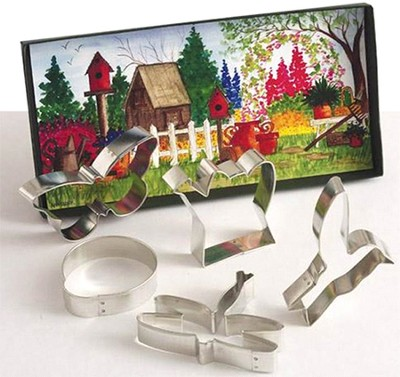 Garden Cookie Cutter Set   -