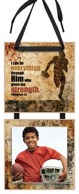 I Can Do Everything Through Him Photo Plaque  -