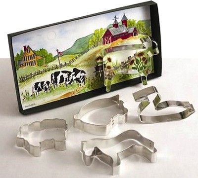 Farm Cookie Cutter Set   -