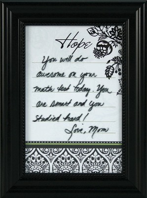 Hope, Rewrite It Framed Print  -