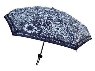 Give Thanks to the Lord Compact Umbrella   -