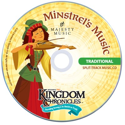 Kingdom Chronicles Music Leader Set, Traditional (Split Track Music CD & Helps CD)  -