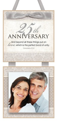 25th Anniversary Photo Plaque  -