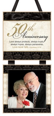 50th Anniversary Photo Plaque  -