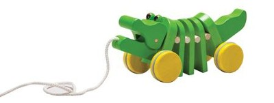Dancing Alligator Pull Toy  -