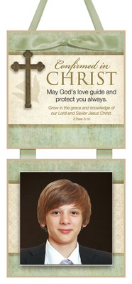 Confirmed in Christ Photo Plaque  -