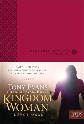 Kingdom Woman Devotional - Slightly Imperfect  -     By: Tony Evans, Chrystal Evans Hurst