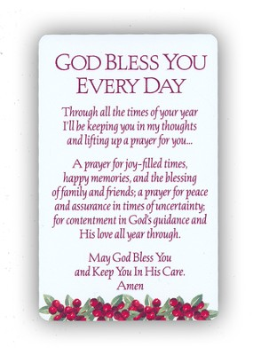 Christmas Prayer Cards, Set of 12  -