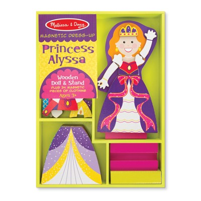 Princess Alyssa, Magnetic Dress Up  -