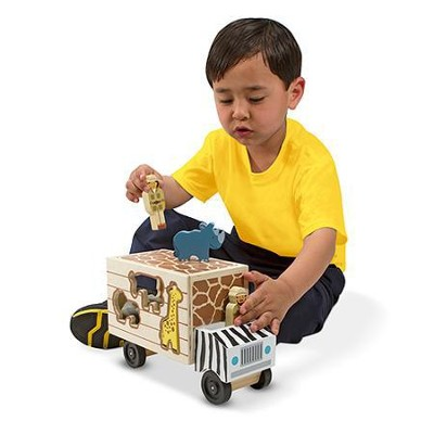 Animal Rescue Shape Sorting Truck  -
