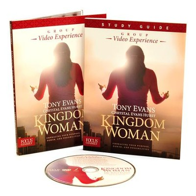 Kingdom Woman Group CURRICULUM DVD and Study Guide  -     By: Tony Evans, Chrystal Evans Hurst