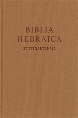 Biblia Hebraica Stuttgartensia, Standard Edition   -     Edited By: Karl Elliger, Willhelm Rudolph