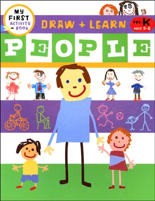 Draw + Learn: People  -     By: Harriet Ziefert     Illustrated By: Tanya Roitman