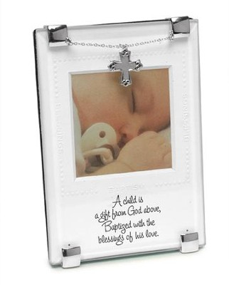God's Gift Baptism Photo Frame  -