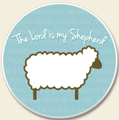 The Lord is my Shepherd Auto Coaster  -
