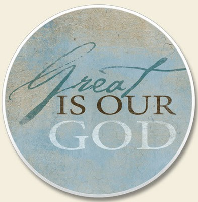 Great is Our God Auto Coaster  -