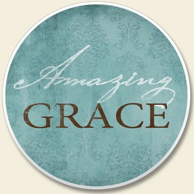 Amazing Grace Auto Coaster  -