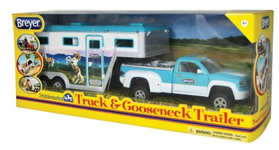 Stablemates, Pick Up Truck and Gooseneck Trailer  -