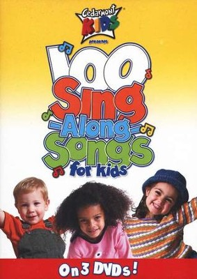 100 Sing-Along Songs for Kids   -     By: Cedarmont Kids