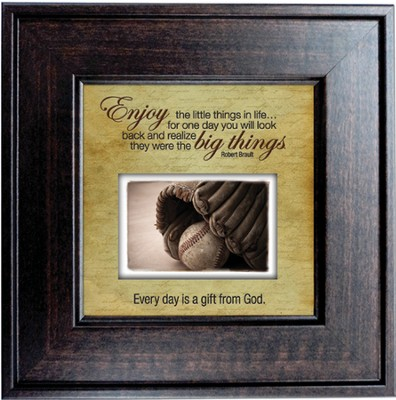 Enjoy the Little Things in Life Framed Print  -