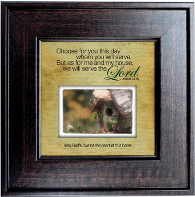 Choose for You This Day Framed Print  -