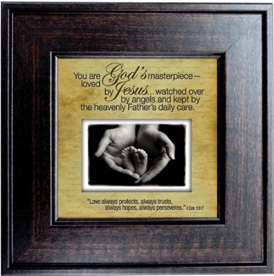 You Are God's Masterpiece Framed Print  -