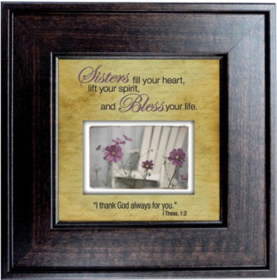 Sisters Fill Your Heart Framed Print  -