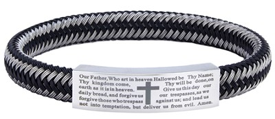 Men's Faith Bracelet, Woven  -