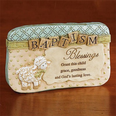 Baptism Blessing Plaque  -